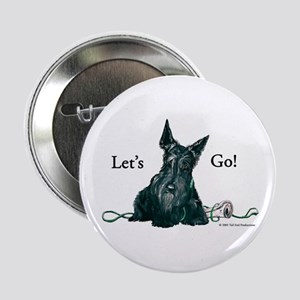 """Let's Go Scotty!!! 2.25"""" Button (10 pack)"""