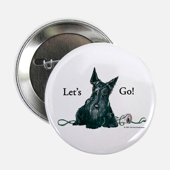 "Let's Go Scotty!!! 2.25"" Button (10 pack)"