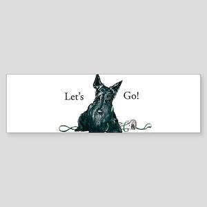 Let's Go Scotty!!! Bumper Sticker