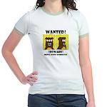 WANTED POSTER #2 Jr. Ringer T-Shirt