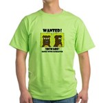 WANTED POSTER #2 Green T-Shirt