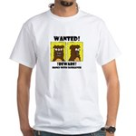 WANTED POSTER #2 White T-Shirt
