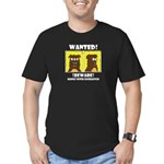 WANTED POSTERS #2B Men's Fitted T-Shirt (dark)