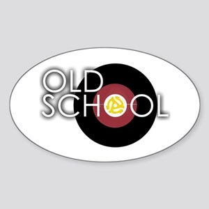 Retro 45 Oval Sticker