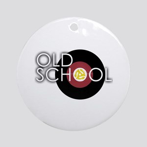Retro 45 Ornament (Round)