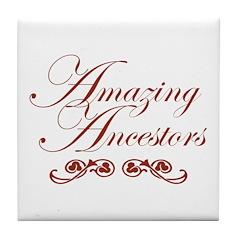 Amazing Ancestors Tile Coaster
