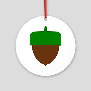 Hazelnut Ornament (Round)