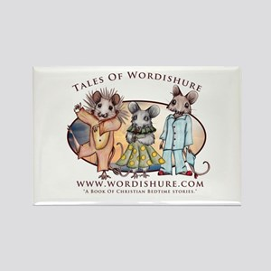 The Church Mice Rectangle Magnet