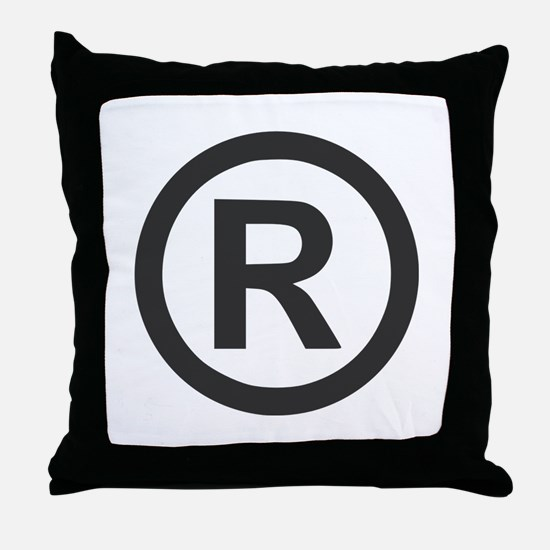 Registered Throw Pillow