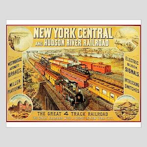 New York Central & Hudson Riv Small Poster