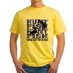 Hunt Fish Yellow T-Shirt