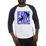 Hunt Fish Baseball Jersey