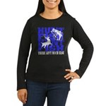 Hunt Fish Women's Long Sleeve Dark T-Shirt