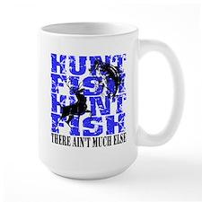 Hunt Fish Large Mug