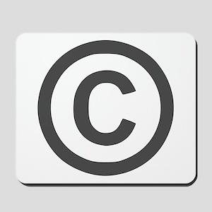 Copyright Mousepad