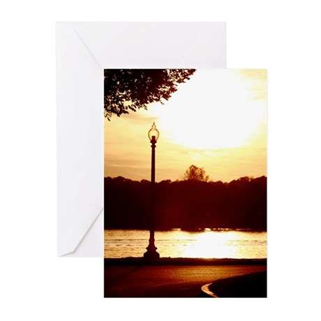 Sunset Lamp Greeting Cards (Pk of 20)