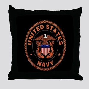 UNITED STATES NAVY Throw Pillow
