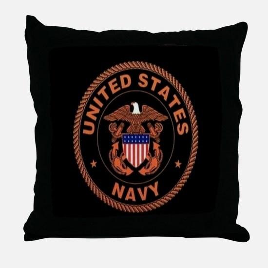 UNITED STATES NAVY Throw Pillow