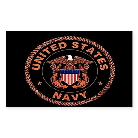 UNITED STATES NAVY Rectangle Sticker