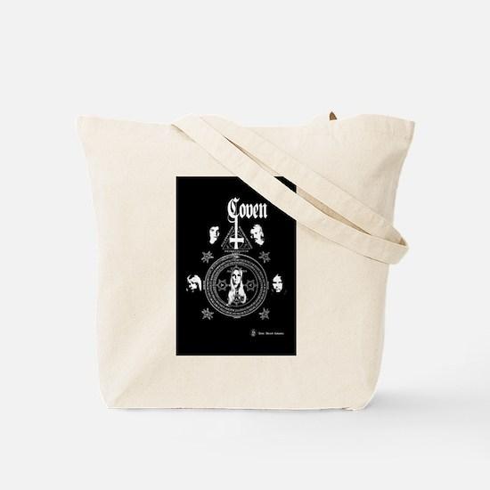 Skull Book Bag/ Tote + Back Print