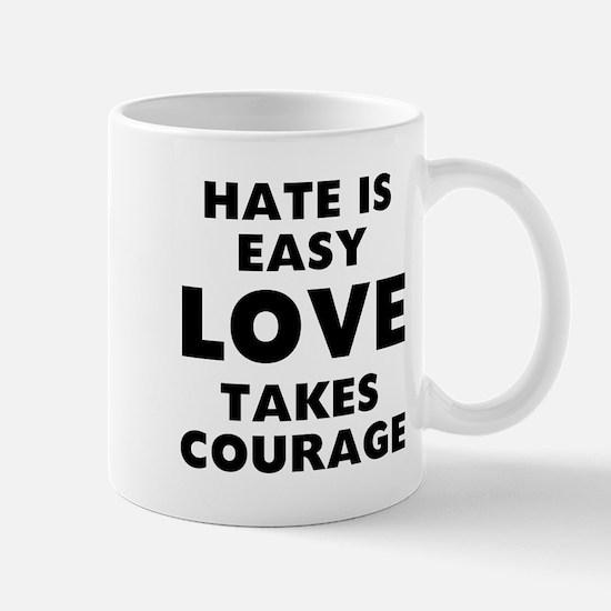 Hate Love Small Mugs