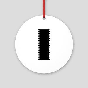 Filmstrip - Movie Ornament (Round)