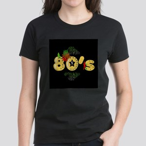 """""""80's...nature"""" Women's Dark T-Shirt"""
