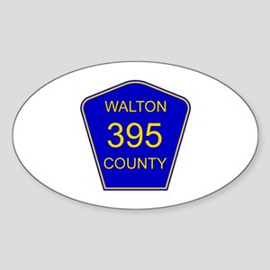 395 Oval Sticker