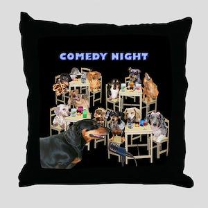 Comedy Throw Pillow