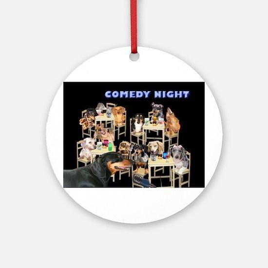 Comedy Ornament (Round)