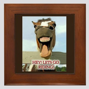 Riding Framed Tile