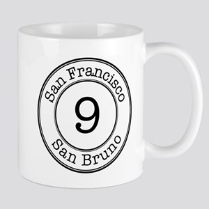 Circles 9 San Bruno Mug