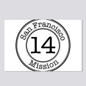 Circles 14 Mission Postcards (Package of 8)