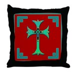 Western CrossThrow Pillow