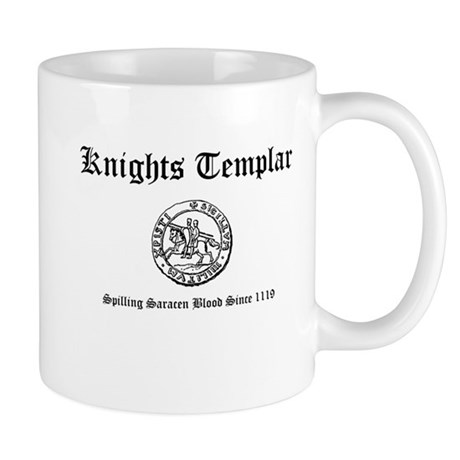 Knights Templar Saracen Blood Mug