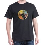 XmasMusic3/Horse (Ar-blk) Dark T-Shirt