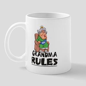 GRANDMA RULES Mug