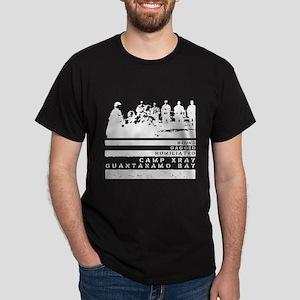Camp Xray, Guantanamo Bay Black T-Shirt