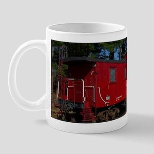 Red & Orange Caboose Mug
