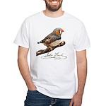 Zebra Finch T-Shirt - design front