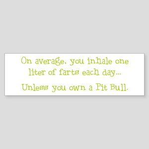 Unless... Lime Bumper Sticker