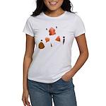 White Zebra Finch T-shirt - Women's