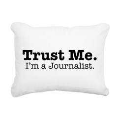Trust Me Rectangular Canvas Pillow