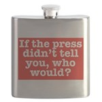 The Press (Red) Flask