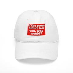 The Press (Red) Baseball Cap