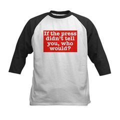 The Press (Red) Baseball Jersey