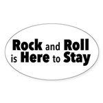 Rock and Roll I Sticker