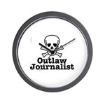 Outlaw Journalist Wall Clock
