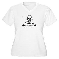 Outlaw Journalist Plus Size T-Shirt