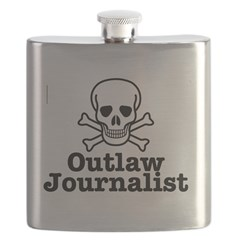 Outlaw Journalist Flask